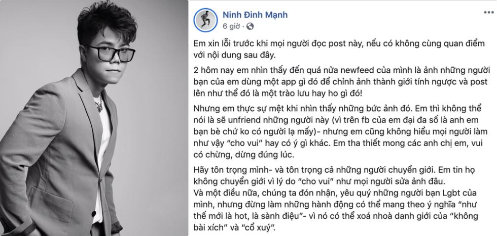 FaceApp làm tổn thương, thiếu tôn trọng cộng đồng LGBT