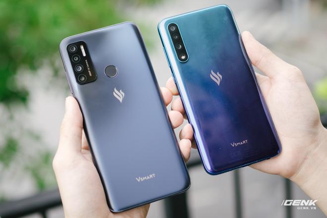 So sánh Vsmart Live 4 và Vsmart Live: Smartphone Make in Vietnam 100% có gì hơn? -phunuduongthoi.vn - Ảnh 1.