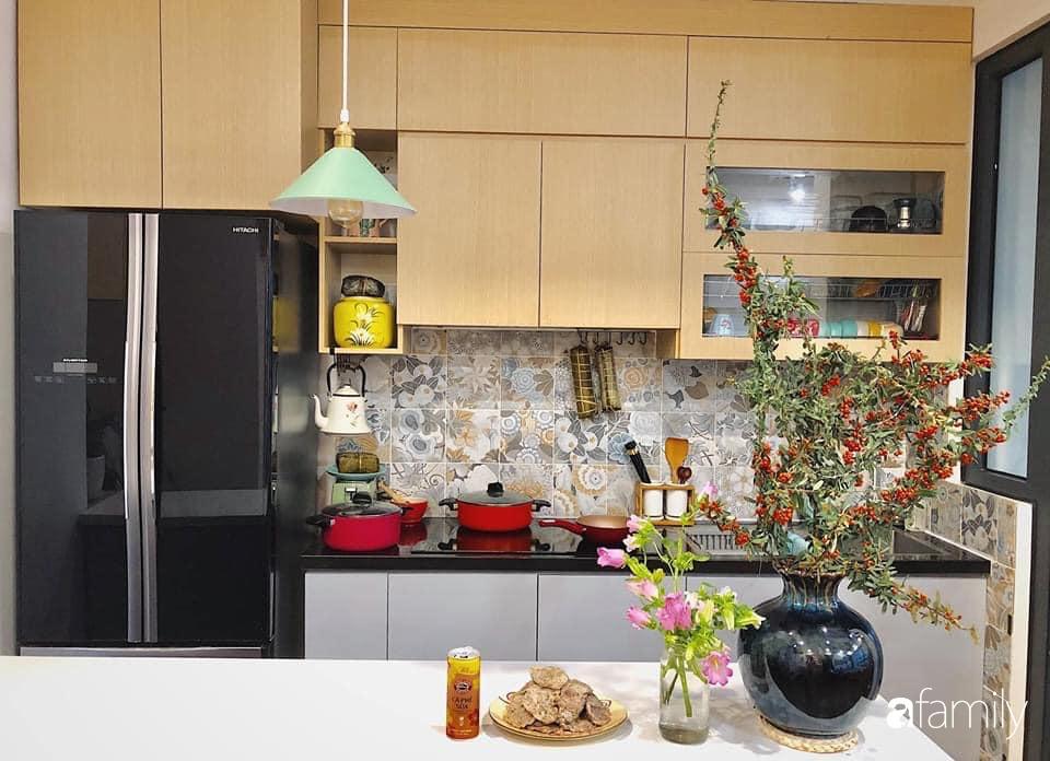 Căn bếp Vintage đẹp lãng mạn của bà mẹ trẻ yêu thích sưu tầm đồ gốm ở Hà Nội - Ảnh 13.