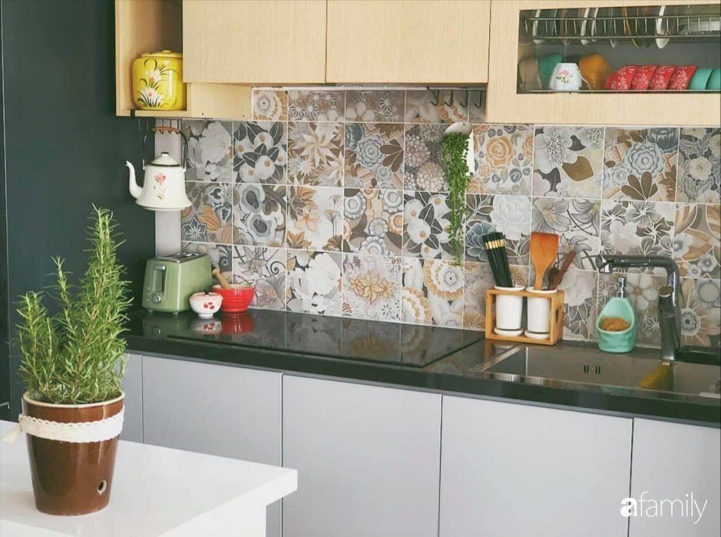 Căn bếp Vintage đẹp lãng mạn của bà mẹ trẻ yêu thích sưu tầm đồ gốm ở Hà Nội - Ảnh 7.