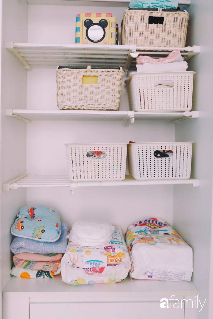 Học mẹ bỉm sữa Hà Thành kinh nghiệm tạo phòng ngủ tối giản cho bé sơ sinh cực hữu ích - Ảnh 7.