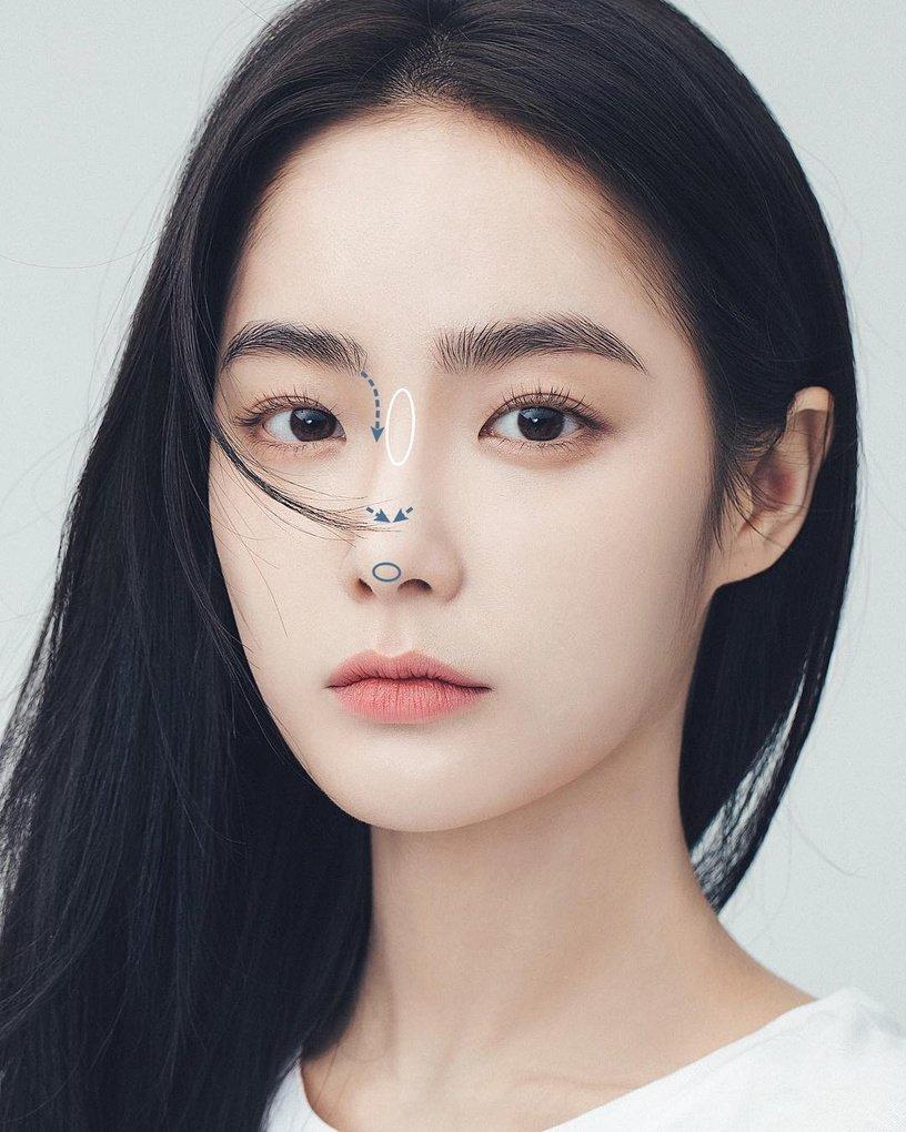 Mũi tẹt và mặt to nhưng gương mặt của cô nàng này đã thay đổi hoàn toàn nhờ tuyệt chiêu makeup - Ảnh 5.