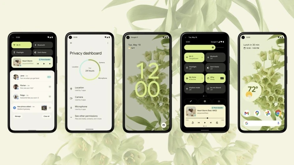 Android 12 chính thức ra mắt với hàng loạt thay đổi cực xịn - phunuduongthoi.vn - 1